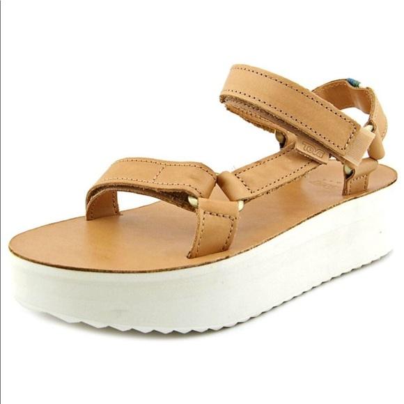 87afa1b0a3 Teva leather platform sandals size 9. M_5b896cf3b6a9428e1322e3c1